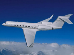 gulfstream-v-flying
