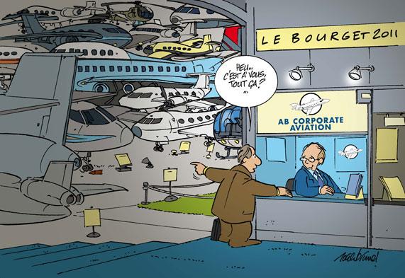 Salon du bourget 2011 location d avions d affaires vols for Salon aviation bourget